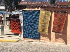 A rug tienda in Mitla