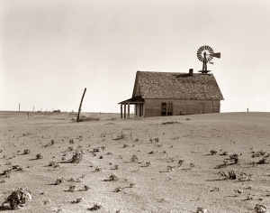 Dust Bowl Farm 1938