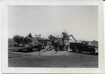 threshing machine '50